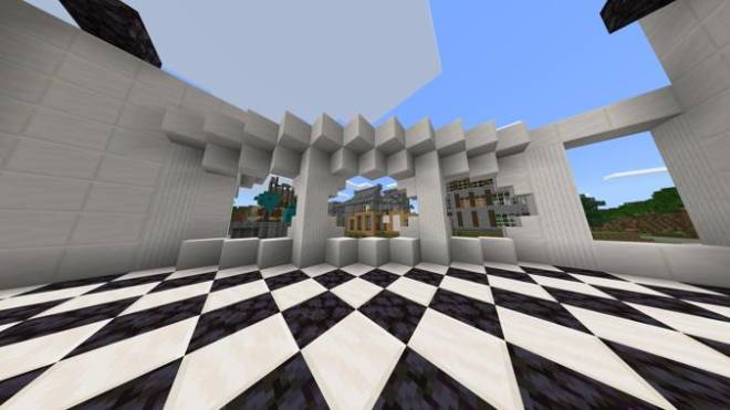 Minecraft: Memes - Some improvements on the Justice Building, quartz is super expensive  image 2