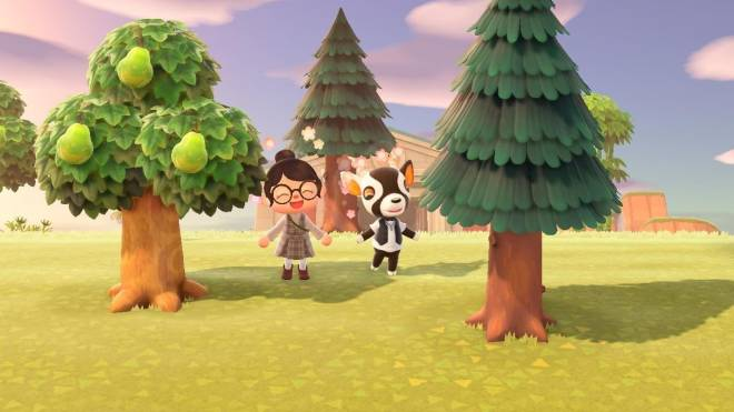 Animal Crossing: Posts - Hanging out with Zell! image 1