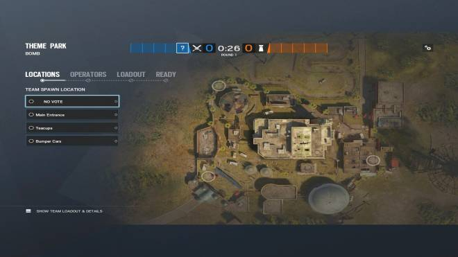 Rainbow Six: Guides - Guide for playing 'Capitao' on 'Theme Park'. image 4