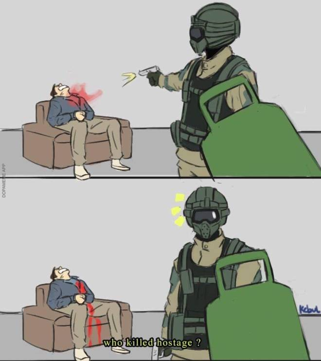 Rainbow Six: General - Who did it? image 1