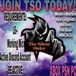TSO is recruiting!!