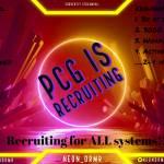 Recruiting!!