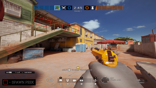 Rainbow Six: Guides - Guide for playing 'Capitao' on 'Outback'. image 8