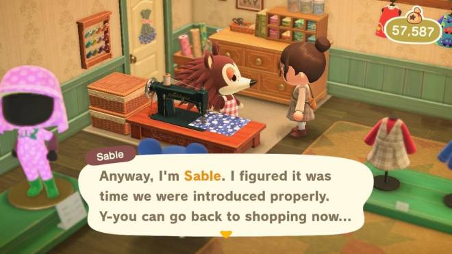Animal Crossing: Posts - Sable opens up 🥺 image 2