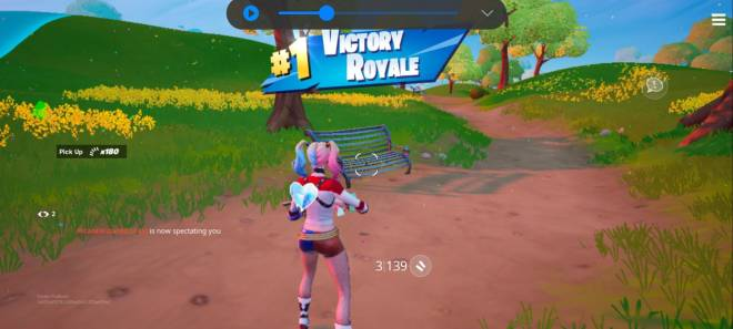 Fortnite: General - I just got another solo win except on mobile. Idk how it says I have 7 solo wins but ill take it.  image 2