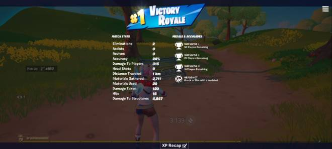 Fortnite: General - I just got another solo win except on mobile. Idk how it says I have 7 solo wins but ill take it.  image 3