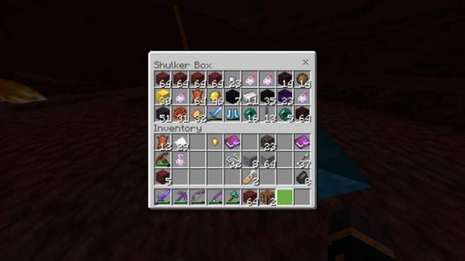 Minecraft: Memes - My nether haul (expect an update pic, the first one got corrupted, that's a slightly outdated one) image 1