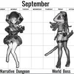 global DC schedule