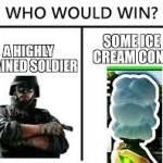 Thermite vs Ice Cream!