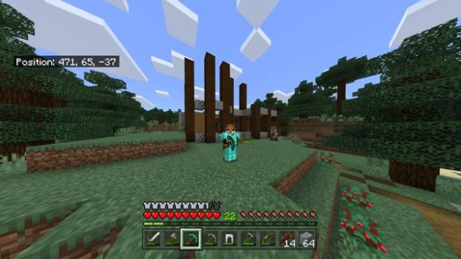 Minecraft: Memes - Average3 and I started a co-op world the other day, and this is how my house is turning out so far.. image 1