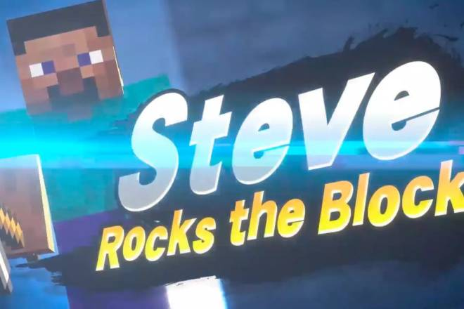 Super Smash Bros: General - Steve got revealed as the next smash dlc, how do y'all feel about it? I personally like it  image 1