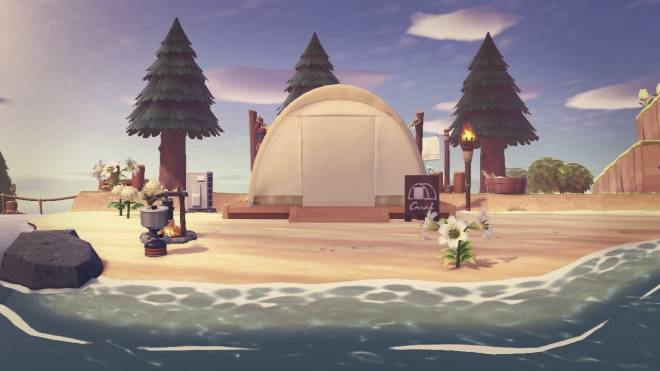 Animal Crossing: Posts - An evening camper image 2