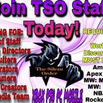 TSO is Recruiting!! Join Today!!