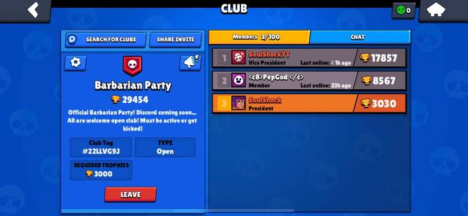 Brawl Stars: General - New club looking for new people to play with join up! image 1