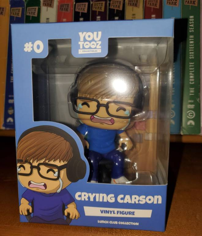 Minecraft: General - Limited Edition Crying Carson YouTooz Vinyl Figure! 😭 image 4