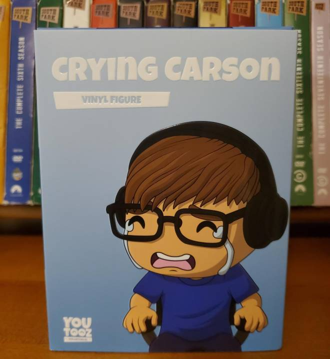 Minecraft: General - Limited Edition Crying Carson YouTooz Vinyl Figure! 😭 image 2