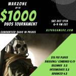 $1000 Warzone Duos Kill-Race tournament