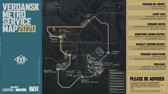 Call of Duty: General - All you Need to Know About Call of Duty Warzone's New Subway System   image 4