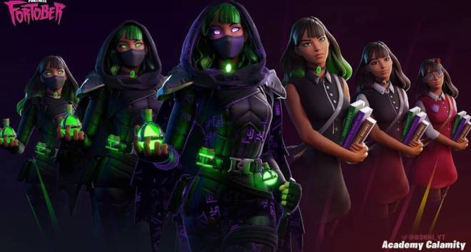 Fortnite: General - I really hope this becomes a skin 😔💚 image 1