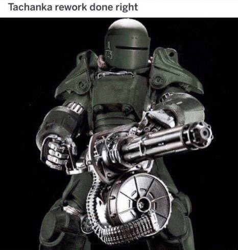 Rainbow Six: Memes - Tachanka's Mini Big Gun image 1