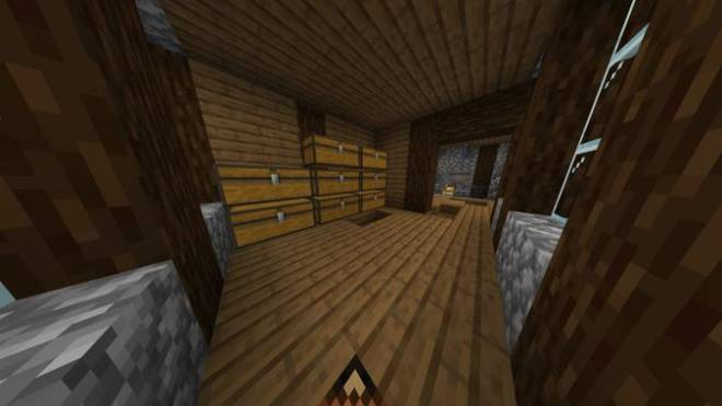 Minecraft: Memes - This is my house's first floor interior in the co-op world image 3