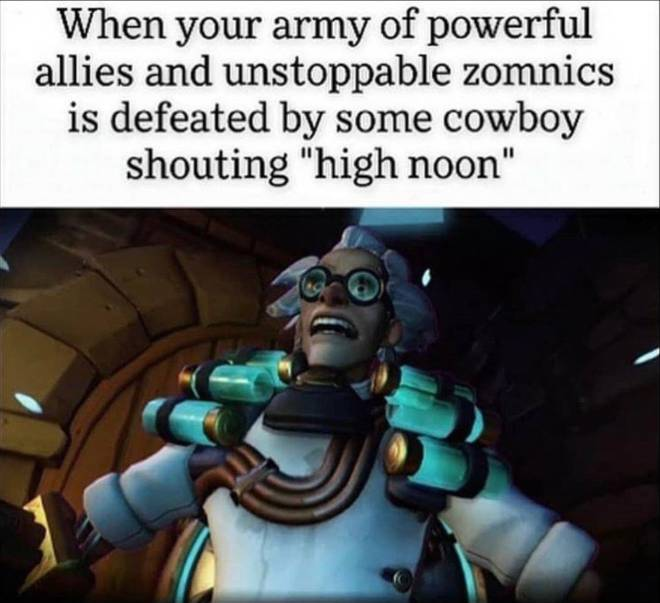 Overwatch: General - Yeah I would imagine this would be pretty damn demoralizing!!! 😅😅 image 1