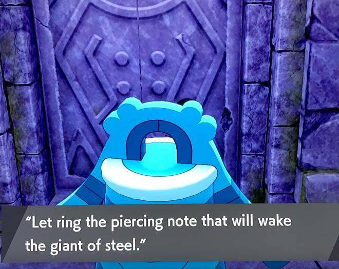 Pokemon: General - Pokémon shield tundra riddle image 1