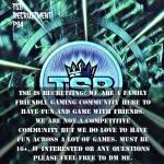 TSB RECRUITMENT PS4
