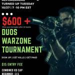 $600 Warzone Duos tournament
