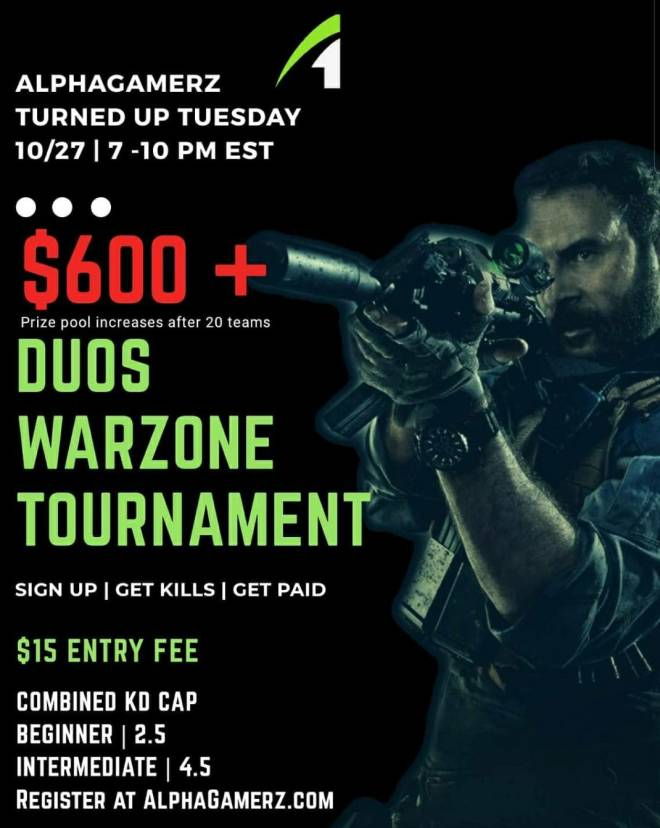 Call of Duty: Event - $600 Warzone Duos tournament  image 2