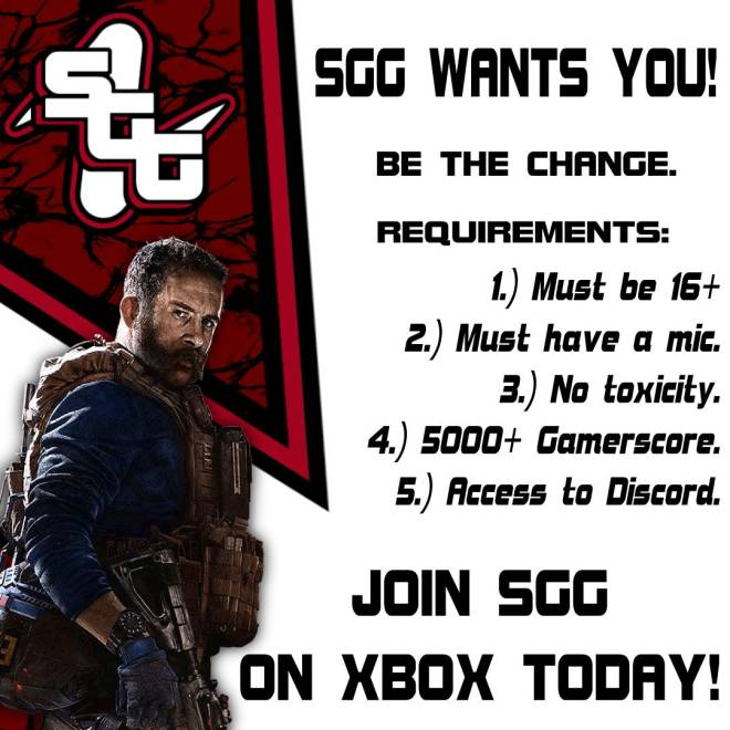 Rainbow Six: Looking for Group - Hello I am part of Smoking Guns Gaming we are a  gaming community if you are interested dm me  #XBOX image 3