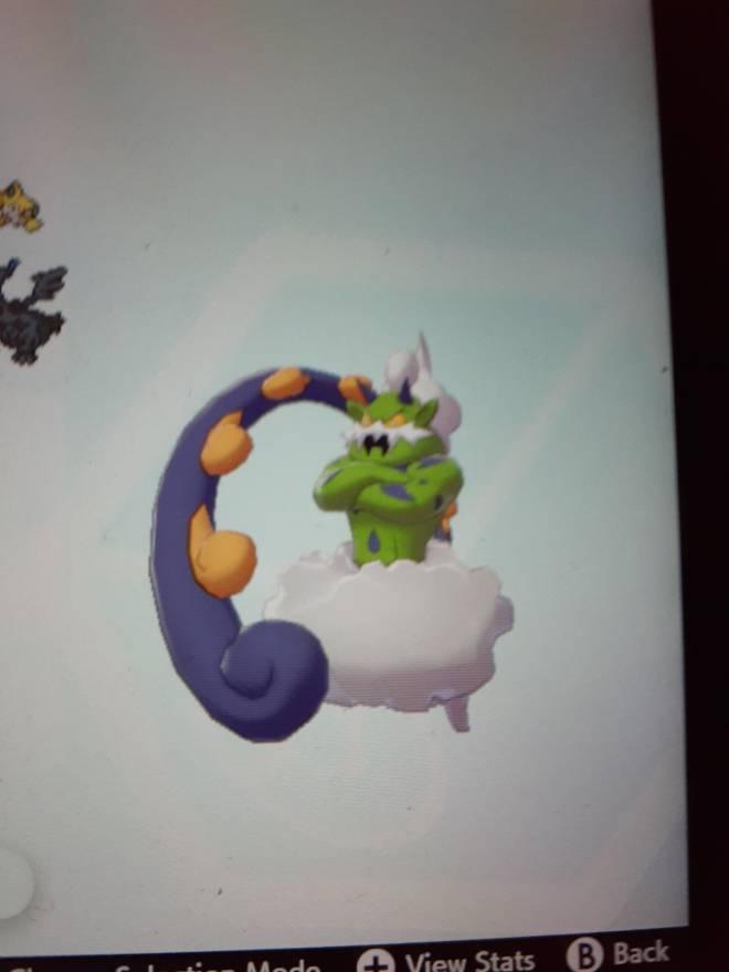 Pokemon: General - Shiny Tornadus for shiny zyard image 2