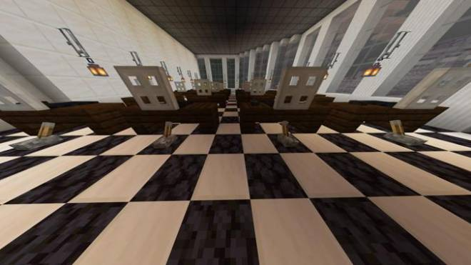 Minecraft: Memes - Preview of second floor of the Foxland Law and Justice Building  image 2