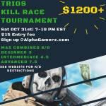 $1200 Warzone Trios Kill-Race tourney