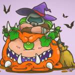 Happy Halloween! Playing Doom Eternal all night! 🤘🏻🎃
