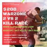 2v2 $200 Warzone Kill race