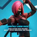 What We Know So Far About Fortnite's New Monthly Crew Pack