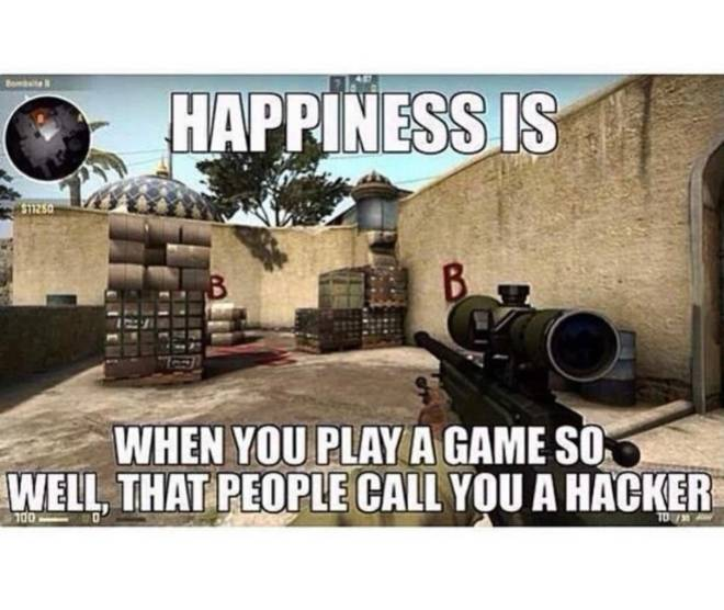 Entertainment: General - I have been called a hacker on mw and siege. 🤣 image 2