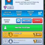 Need people in my clan. I promote after you beat me in a  friendly battle