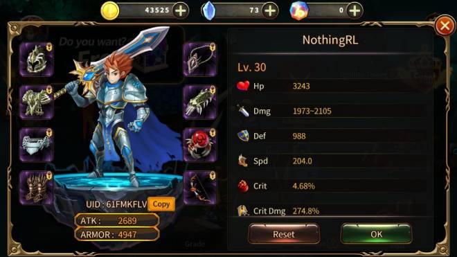 Element Blade: - Player Level 10 - NothingRL ID:61FMKFLV image 1