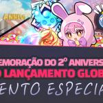 🎉 Evento Especial - Comemoração de 2 anos de GrandChase Global!