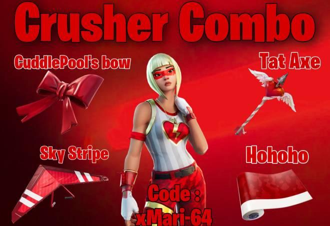 Fortnite: General - Crusher Combo I made 🥰❤️ image 2