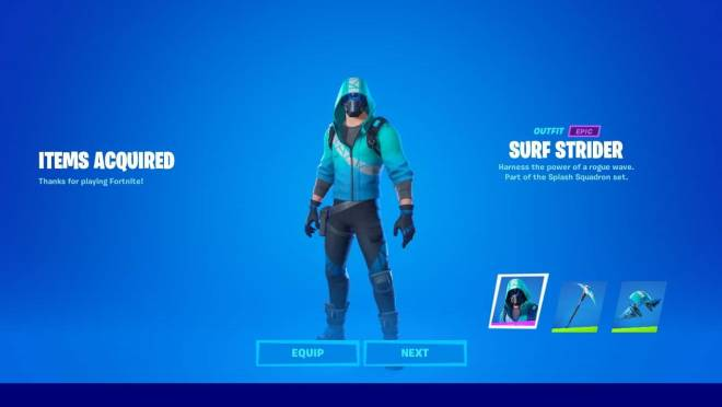 Fortnite: General - How To Get Fortnite's Newest Surf Strider Bundle image 3