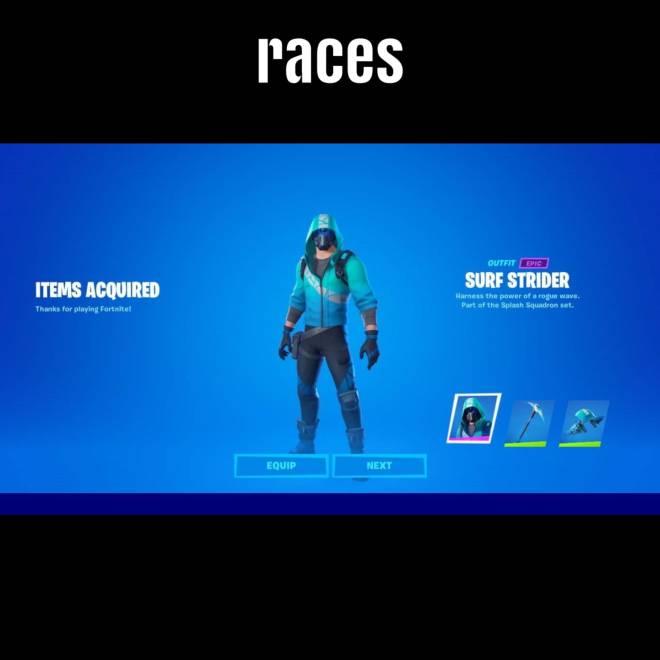 Fortnite: General - Races image 2