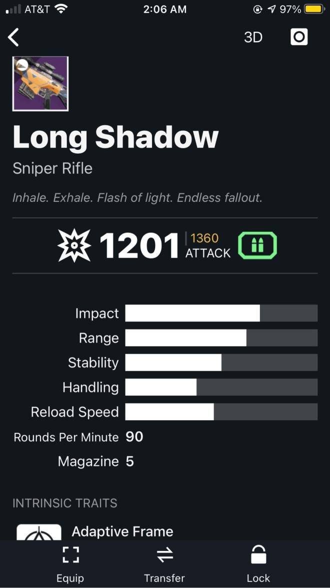 Destiny: General - What's the best Kinetic weapon for Crucible ? image 7
