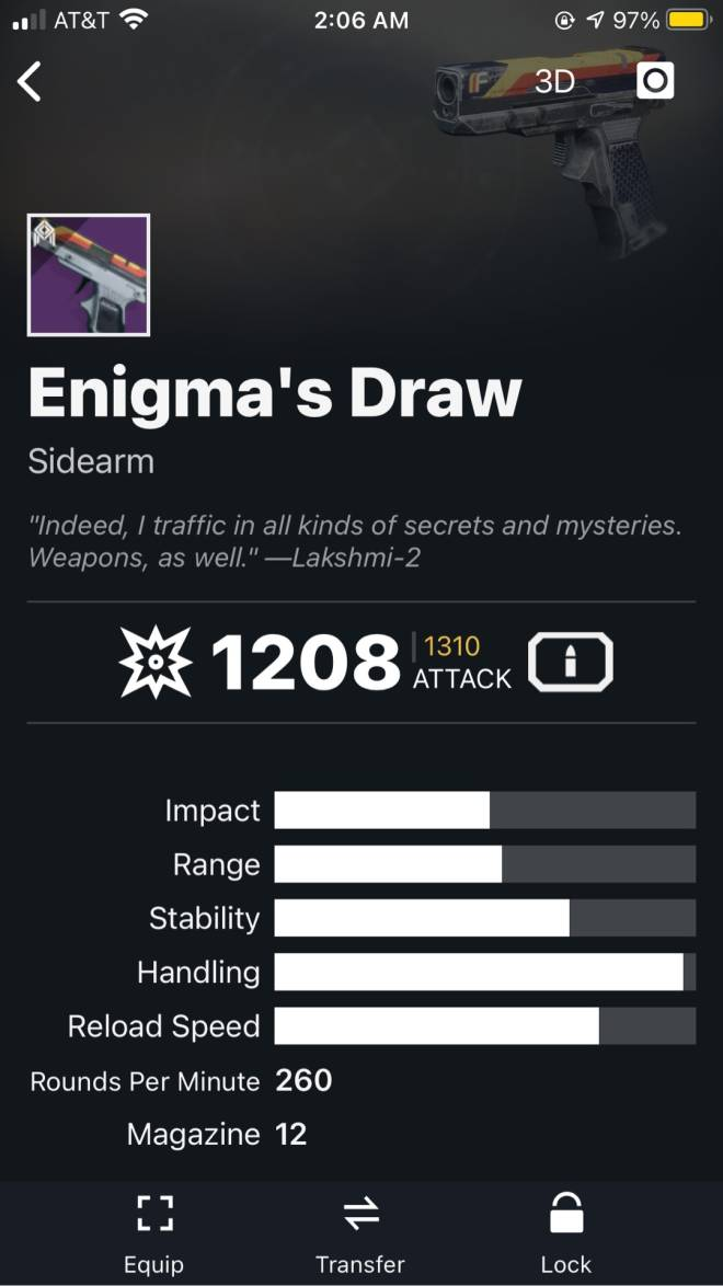 Destiny: General - What's the best Kinetic weapon for Crucible ? image 4
