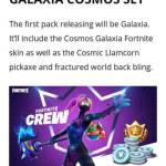 Galaxia Cosmos Set 👀💜