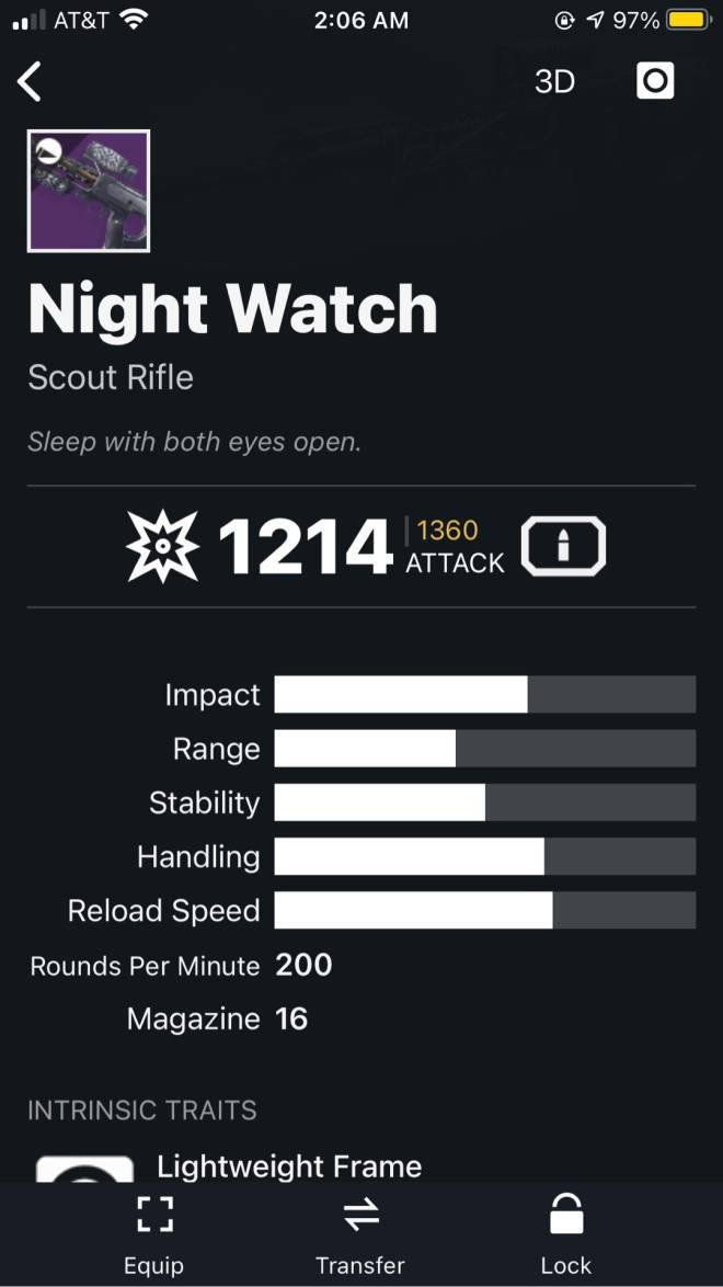 Destiny: General - What's the best Kinetic weapon for Crucible ? image 9