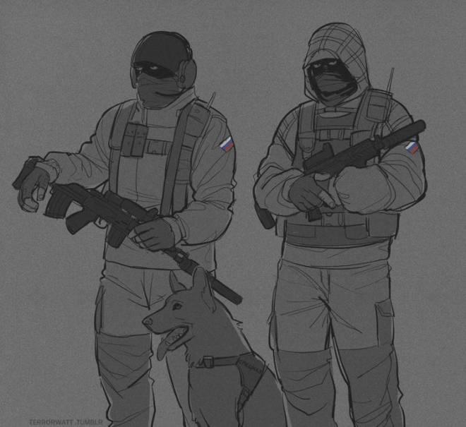 Rainbow Six: General - lil comrades image 2