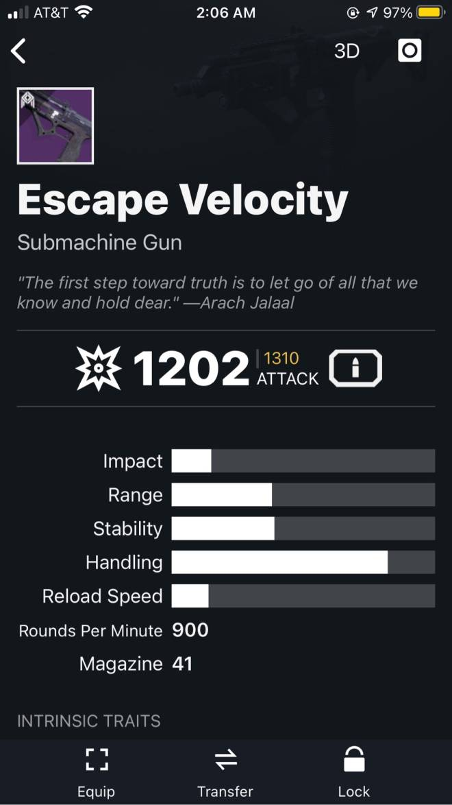 Destiny: General - What's the best Kinetic weapon for Crucible ? image 8